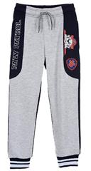 Package of 4 pairs of pants. 98 cm - 116 cm. 1-1-1-1. Boys sweatpants with Paw Patrol applications