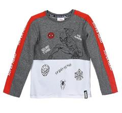Package of 4 pieces. 98 cm - 128 cm. 1-1-1-1. Spider-Man Marvel long sleeve shirt for a boy