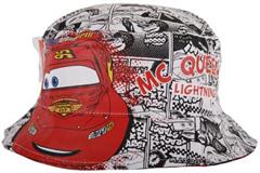 Hat for boy, double sided, Disney Cars McQuinn.